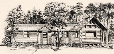 Trygg Land Office sketch